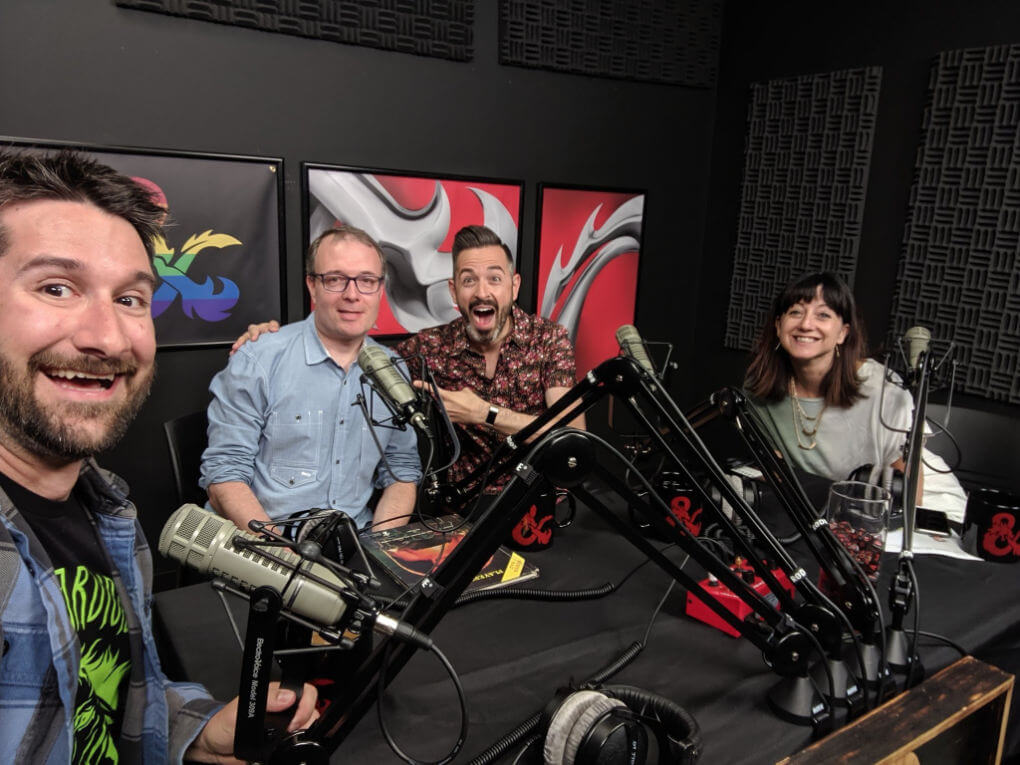 Ian Lurie on Dungeons & Dragons podcast
